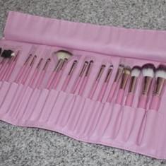Set 20 pensule machiaj Fraulein38 Pink - Pensula machiaj