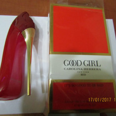 PARFUM CAROLINA HERRERA GOOD GIRL RED 80 ML --SUPER PRET, SUPER CALITATE! - Parfum femeie Carolina Herrera, Apa de toaleta