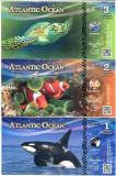 !!!  RARR :  ATLANTIC  OCEAN  - COALA  NETAIATA  1 + 2 + 3  OCEAN $ 2016 - UNC
