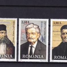 ROMANIA 2007, LP 1779, PERSONALITATI GERMANE SERIE MNH - Timbre Romania, Nestampilat