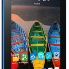 Tableta Lenovo Tab3-710I 7 inch MediaTek 1.3 GHz Quad Core 1GB RAM 8GB flash WiFi GPS Android 5.0 Black (ZA0S0006BG)