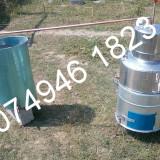 Instaaltie completa pt tuica.Cazan de Inox, 60 de litir+Accesori.Nou!! - Palinca