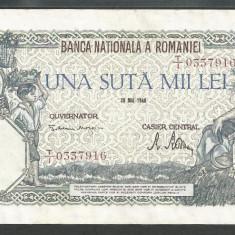 ROMANIA  100000  100.000 LEI  28  MAI  1946   [6]   XF