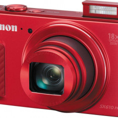 Aparat foto digital Canon PowerShot SX610, roşu