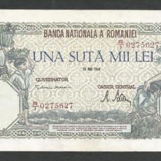 ROMANIA  100000  100.000 LEI  28  MAI  1946   [23]