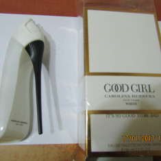 PARFUM CAROLINA HERRERA GOOD GIRL WHITE 80 ML --SUPER PRET, SUPER CALITATE! - Parfum femeie Carolina Herrera, Apa de toaleta