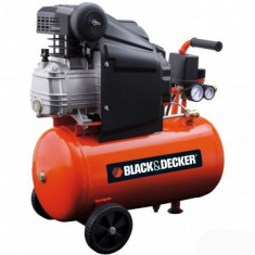 Compresor aer Black&Decker BD 205/24, 2 CP, 210 l/min - Compresor electric