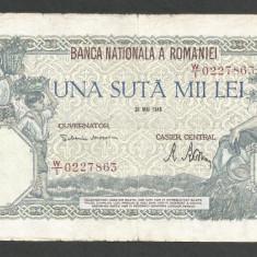ROMANIA  100000  100.000 LEI  28  MAI  1946   [28]