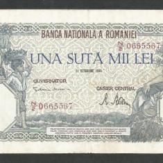 ROMANIA  100000  100.000 LEI  21  OCTOMBRIE  1946   [19]