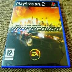 Joc NFS Need For Speed Undercover, PS2, original, alte sute de jocuri! - Jocuri PS2 Electronic Arts, Curse auto-moto, 12+, Multiplayer