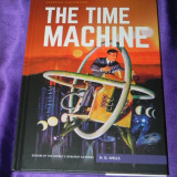 The time machine Masina timpului classics illustrated engleza H G Wells (f0611 - Reviste benzi desenate