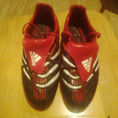 Adidas traxion firm ground - Ghete fotbal Adidas, Marime: 41, Culoare: Rosu