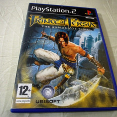 Joc Prince of Persia the Sands of Time, PS2, original, alte sute de jocuri! - Jocuri PS2 Ubisoft, Actiune, 12+, Single player