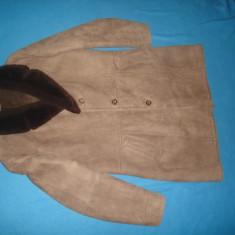 COJOC BARBATESC DE PIELE ORIGINAL - Palton barbati, Marime: M, Culoare: Din imagine, M