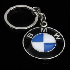 Breloc auto metalic pentru bmw metalic + cutie simpla cadou