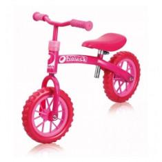 Bicicleta fara Pedale E-Z Rider 10 inch Bubble Pink Hauck - Bicicleta copii