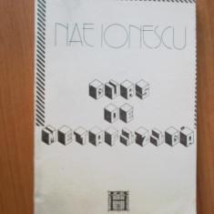 E4 Curs De Metafizica - Nae Ionescu - Filosofie