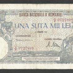 ROMANIA  100000  100.000 LEI  21  OCTOMBRIE  1946   [20]