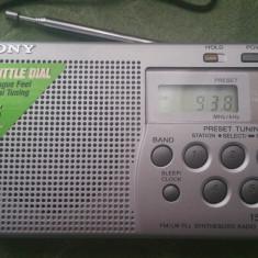 APARAT RADIO PORTABIL SONY ICF-M260, Digital