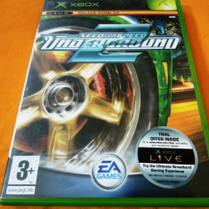NFS, Need For Speed Underground 2, xbox classic, original! - Jocuri Xbox Ea Games, Curse auto-moto, 3+, Multiplayer