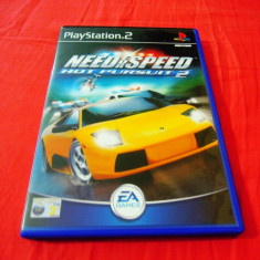 Joc NFS Need For Speed Hot Pursuit 2, PS2, original, alte sute de jocuri! - Jocuri PS2 Electronic Arts, Curse auto-moto, 12+, Multiplayer