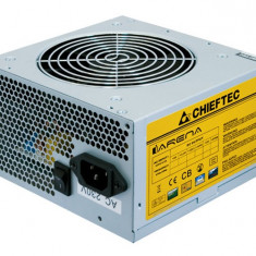 SURSA CALCULATOR CHIEFTEC GPA-400S, 400W REALI, 6+2 PIN VIDEO, GARANTIE 6 LUNI - Sursa PC Chieftec, 400 Watt