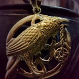 Pandantiv bronz Corb Talisman - Pandantiv fashion