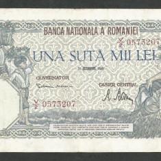 ROMANIA  100000  100.000 LEI  21  OCTOMBRIE  1946   [17]