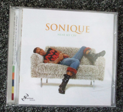 Sonique - Hear My Cry CD foto