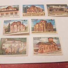 Grecia 1972 manastiri si biserici/ serie MNH - Timbre straine, Nestampilat