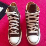 Converse All Star originali, high top, marimea 36, 5-23 cm. - Tenisi dama Converse, Culoare: Khaki, Textil