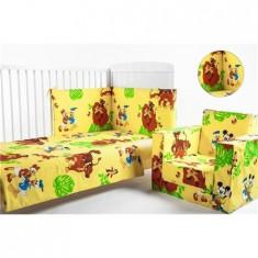 Lenjerie 3 Piese Lion King - Lenjerie pat copii BebeDeco