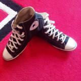 Converse All Star originali, high top, marimea 40, 5-26 cm. - Tenisi dama Converse, Culoare: Negru, Textil