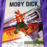 Moby Dick - Herman Melville benzi desenate engleza classics illustrated (f0608 - Reviste benzi desenate