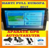 "GPS  Navigatii ecran HD 7"" GPS AUTO, GPS TIR GPS CAMION, HARTI FULL EUROPA 2017, Toata Europa, Lifetime"