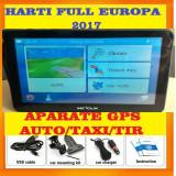 "GPS Navigatii ecran HD 7"" GPS AUTO, GPS TIR GPS CAMION, HARTI FULL EUROPA 2017, 7 inch, Toata Europa, Lifetime, Car Sat Nav, peste 32 canale"