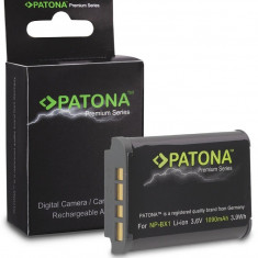 Premium acumulator Sony NP-BX1, CyberShot DSC RX100, compatibil marca Patona,