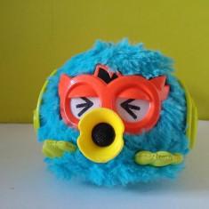 Jucarie Furby Party Rocker, model deosebit, albastru, 10x8cm - Jucarii plus