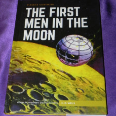 The first men in the moon benzi desenate engleza classics illustrated (f0612 - Reviste benzi desenate