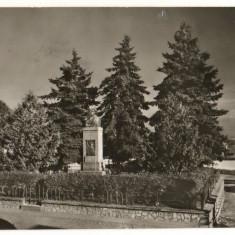 CPI (B8045) CARTE POSTALA - AVRIG. STATUIA LUI GHEORGHE LAZAR - Carte Postala Transilvania dupa 1918, Circulata, Fotografie
