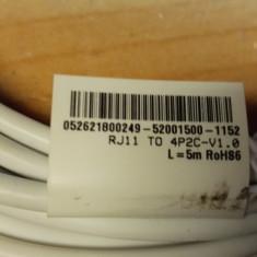 Cablu Telefon 5 m - Cablu retea
