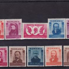 ROMANIA  1943  LP 155   FIGURI   ARDELENE   SERIE  MNH