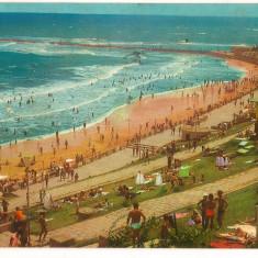 CPI (B8030) CARTE POSTALA - EFORIE SUD. PLAJA - Carte Postala Dobrogea dupa 1918, Circulata, Fotografie
