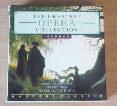 The Greatest Opera Collection 10 CD Box Set foto