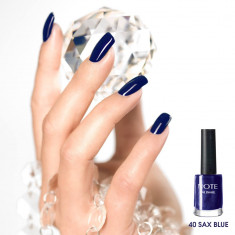 Oja Alta Marca NOTE Cosmetics nr. 40 SAX BLUE