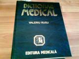 DICTIONAR MEDICAL- VALERIU RUSU