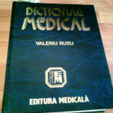 DICTIONAR MEDICAL- VALERIU RUSU