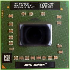 Procesor AMD Athlon 64 X2 QL-64 AMQL64DAM22GG 2.1Ghz Socket S1 S1g2 ca NOU - Procesor laptop