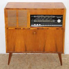 Radio cu Pick-up Electronica Traviata, tip Comoda; Dulap - Comoda living