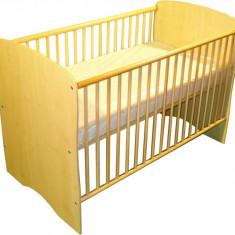 Patut Pentru Copii Lemn Fara Sertar Mykids Karolina Natur - Patut lemn pentru bebelusi